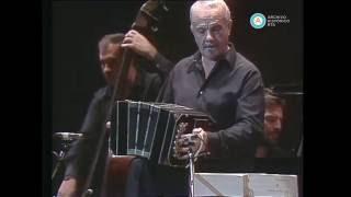 """Astor Piazzolla y Milva en """"Nuestro tango"""", 1985"""
