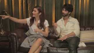 Alia and Shahid promote Shandaar with Kaisi Yeh Yaariyan cast
