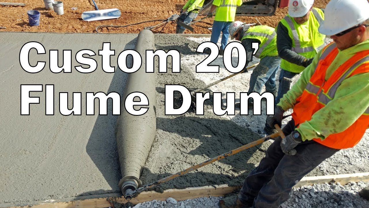 Custom 20' Flume Drum