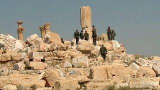 اكتشاف مقبرة جماعية في تدمر    3-4-2016