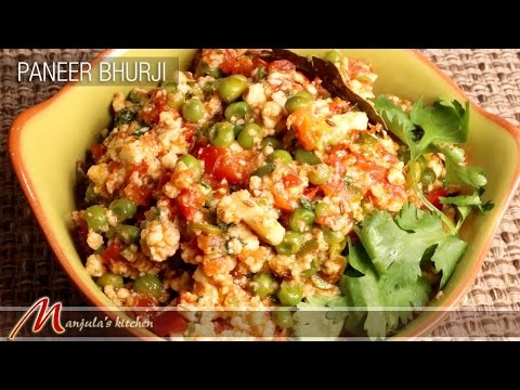 Paneer Bhurji Recipe by Manjula