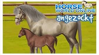 Horse World Online [angezockt]: Ein kostenloses Browser- Pferdespiel | Let's Play [HOW] [DEUTSCH]