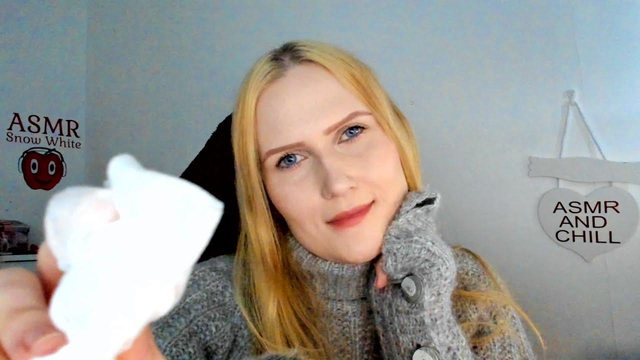 My face is NAKED 🙈 ASMR Skincare & Face Massage - YouTube