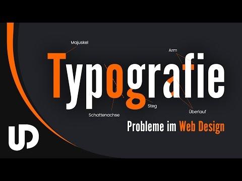 5 Typografie Probleme im Web & UX Design! | #Webdesign #Tutorial