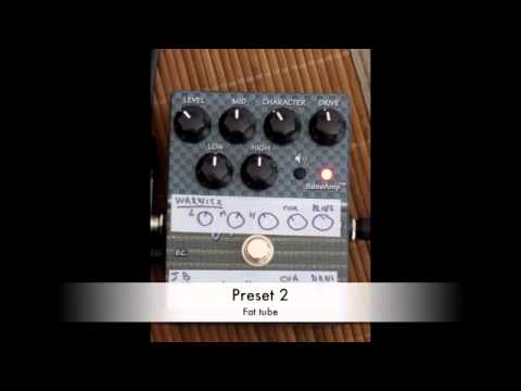 review of the tech 21 VT bass V2: presets