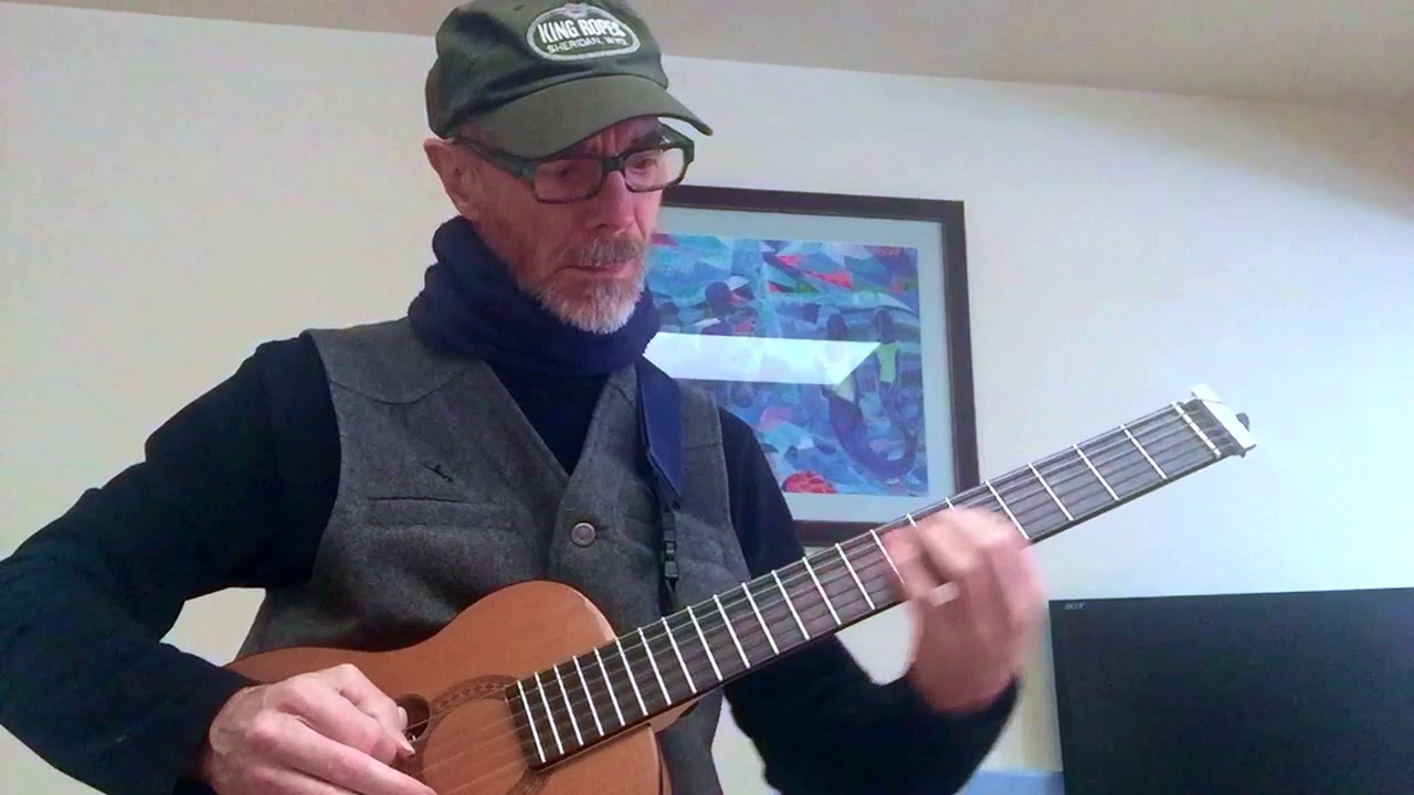 Chord solo and improv on a snowy day - HD 720p