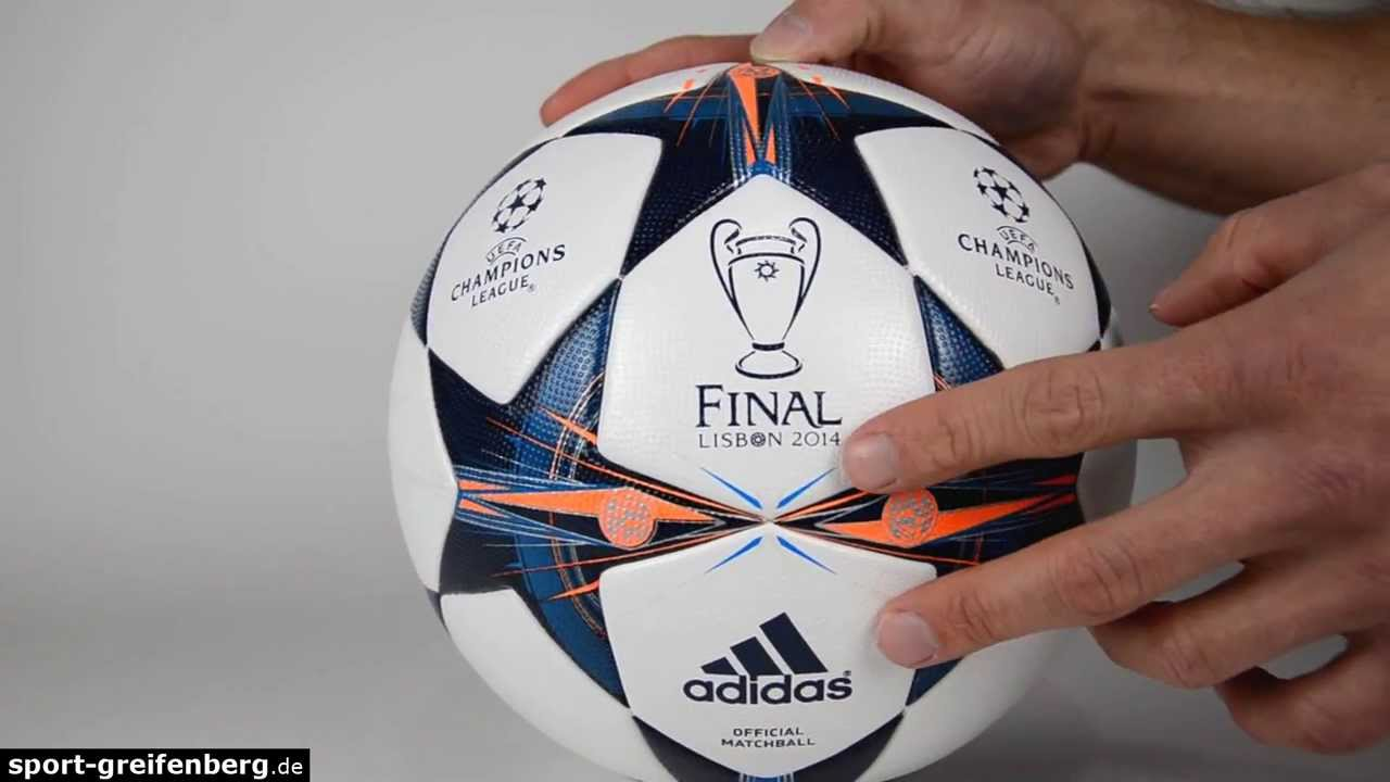 634b4d398d Adidas Finale 14 Lisabon Champions League Ball - YouTube