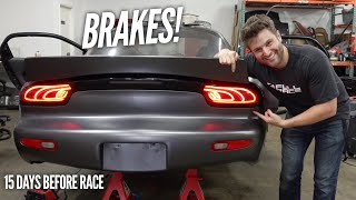 AWD 4 Rotor RX-7 finally gets Brake Lights and Pop Ups! Mesmerizing.