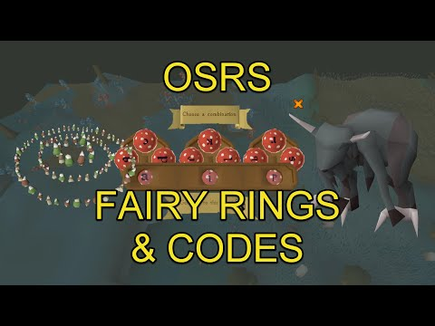 OSRS - Fairy Ring Codes & Locations