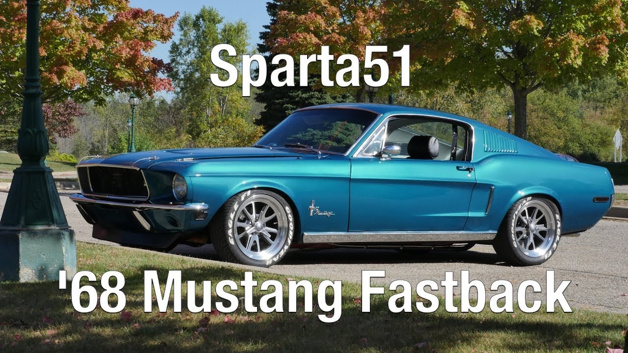 Oliver's 331 Stroker 1968 Mustang Fastback 'Sparta51' is the