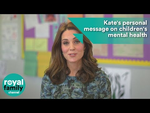Kate's personal message on children's mental health
