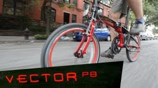 Dahon Vector P8 Folding Bicycle Review Video
