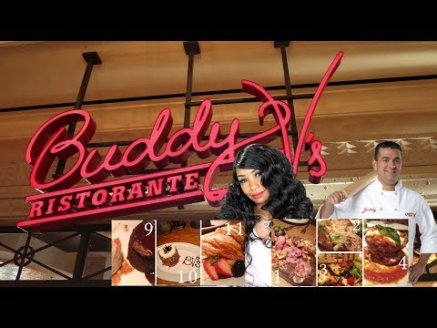 Buddy V's Ristorante and Vegas Day 1 Vlog, Hotel/Room Tour, Shopping and Good Eats