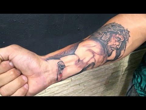 Tatuagem Jesus Cristo Em 3d Como Fazer