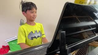 Twinkle twinkle little star piano