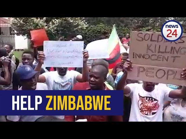 WATCH: Mnangagwa and and his gangster must leave Zimbabwe alone - Zimbabweans