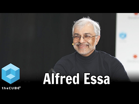 Alfred Essa, McGraw Hill Education - Spark Summit East 2017 - #sparksummit - #theCUBE