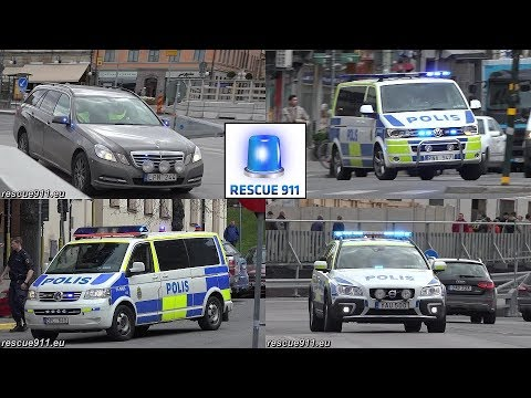 Police // Polis Stockholm