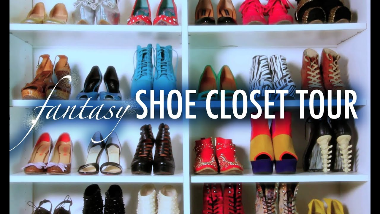 Fantasy Shoe Closet Tour with Mr. Kate