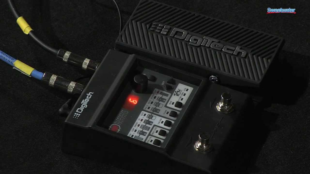 digitech element and element xp multi effects pedal demo sweetwater sound youtube. Black Bedroom Furniture Sets. Home Design Ideas