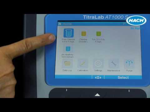 AT1000 Titrator   Application Installation And Setup
