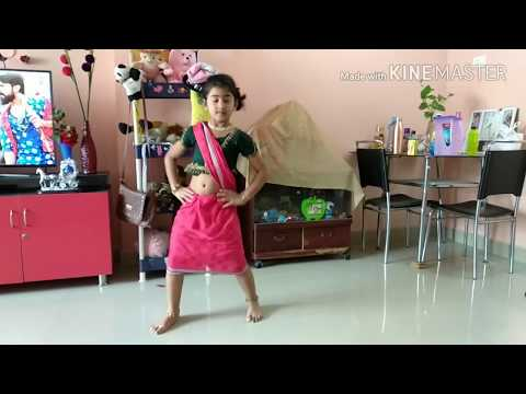 Rangamma mangamma dance by Isha II rangamma mangamma video song