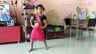 Rangamma mangamma dance by Isha II rangamma mangamma video song
