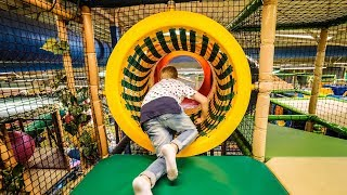 Fun for Kids at Busfabriken Lekland Soft Play Center
