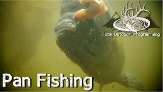 How to fish for bluegill, crappie, perch.  Panfish fishing tips, bait under bobber