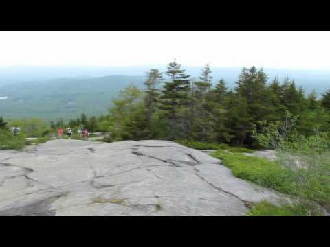 Climbing Mount Monadnock In Jaffrey New Hampshire On The Marlboro Trail