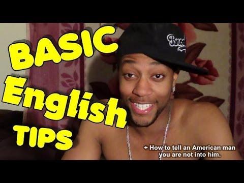 Basic American Slang Tips