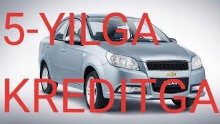 LIZING YOKI KRIDITGA AVTOMABILLAR