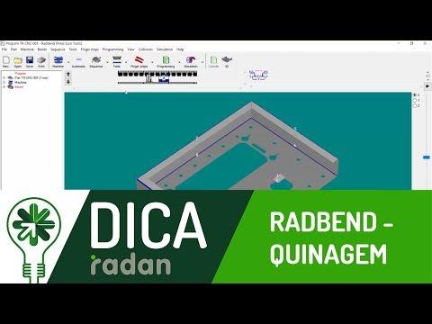 Dica 08 RD | Radbend - Quinagem