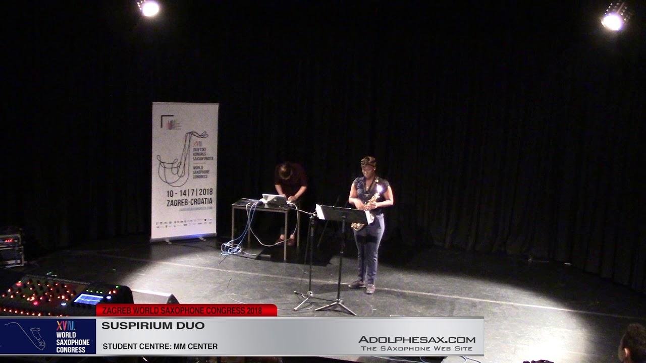 Lament by Kendra Wheeler & Kyriaki Gkoudina - Suspirium Duo  #adolphesax
