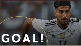 Emre Can Wonder Goal for Germany vs Azerbaijan (8/10/17)
