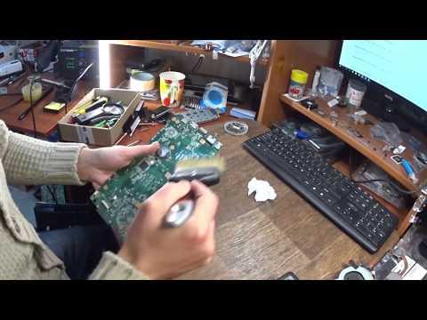 Ремонт системы питания ноутбука ASUS K53SV| не включается ноутбук | Не заряжается ноутбук