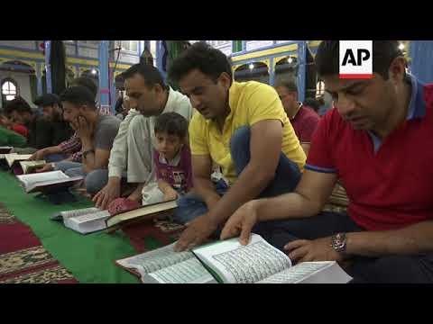 Muslims observe Ramadan in Indian Controlled Kashmir