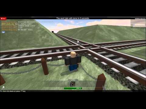 ROBLOX: Chasing Short CSX Mixed Freight Through Medina - YouTube