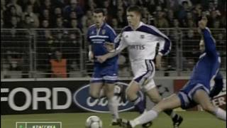 Андерлехт - Динамо Киев ЛЧ 2000/01 2 taim