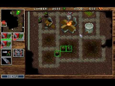 Warcraft: Orcs & Humans (PC DOS) Orc campaign longplay