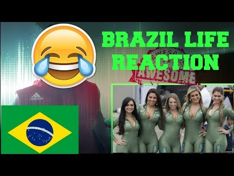 Beach life in Brazil REACTION!!! (OMG I MUST GO!) #BrazilLife