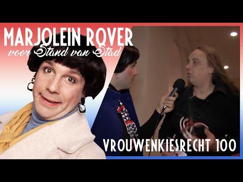 Marjolein Rover; 100 jaar vrouwenkiesrecht