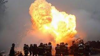 Взрыв на химическом заводе в Китае. 17.08.2015