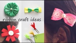 Check out cool and easy Ribbon Craft Ideas. Watch more: http://www....
