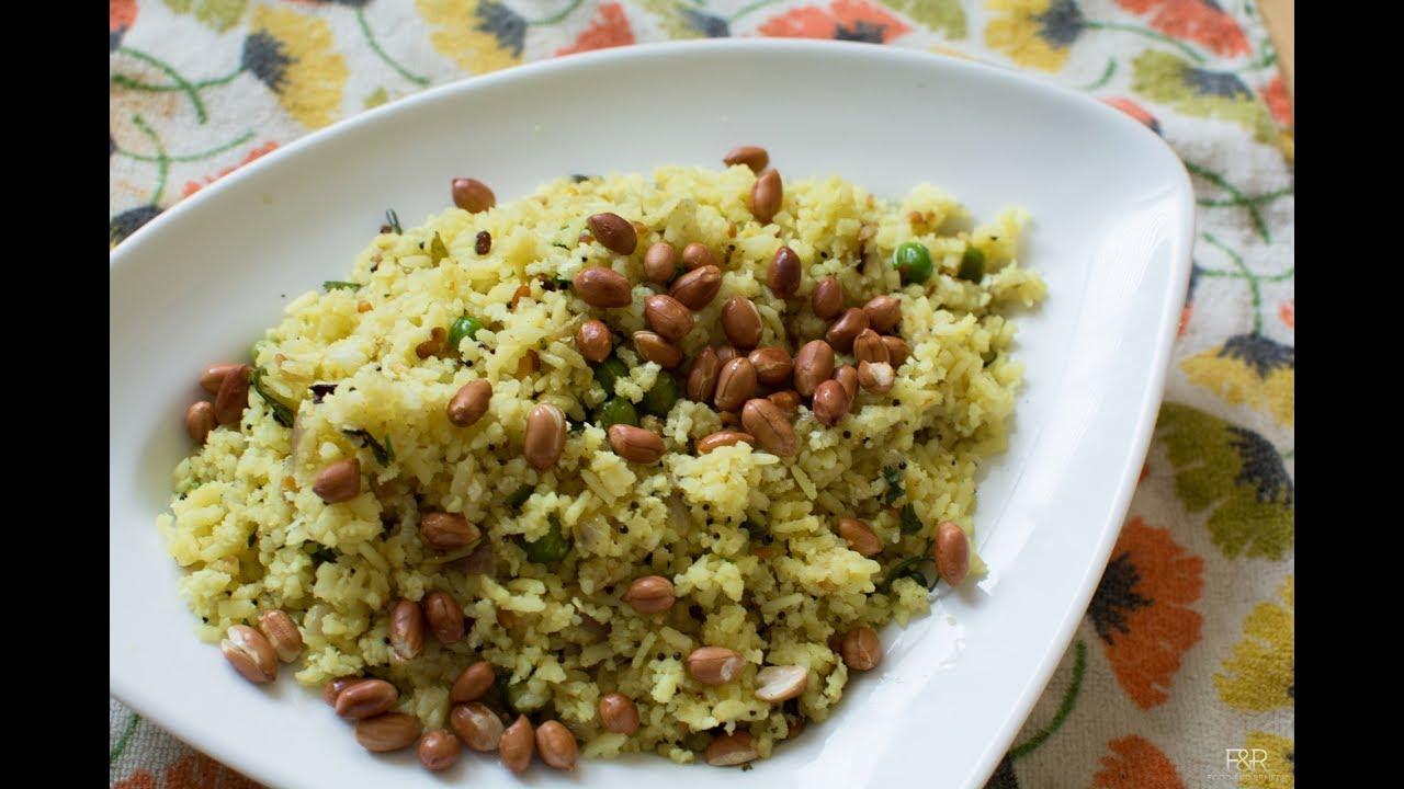 Khara avalakki recipe karnataka style poha recipe