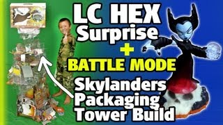 Lightcore Hex Surprise Under Tower Of Skylander Boxes + Battle Mode