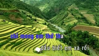 KARAOKE | Mong Em Hiểu Lòng Anh - St. Nguyễn Minh Anh | Nhạc Trẻ Karaoke Không Lời