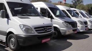 Микроавтобус на свадьбу Mercedes Sprinter / мерседес спринтер белый