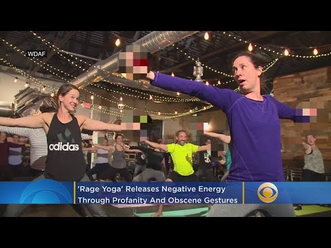 'Rage Yoga' Releases 'Negative Energy' With Alcohol, Profanity And Obscene Gestures