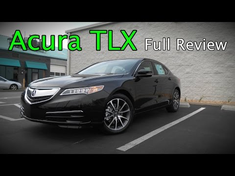 2017 Acura TLX: Full Review | 2.4, 3.5, Base, Technology & Advance